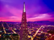 Transamerica Pyramid Shines Nightly at 8pm for Healthcare Workers