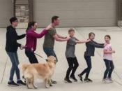 Watch This Epic Quarantine-Style Neighborhood Flash Mob