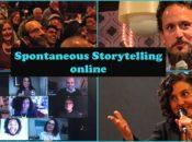 Spontaneous Storytelling Online