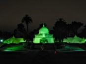 """SF Landmarks """"Go Green"""" Tonight to Honor Parks Workers"""