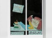 SF Children's Book Artist Turns Windows into Cartoons Every Day