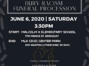 Berkeley Family Friendly March: Bury Racism Funeral Procession