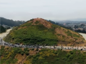 Awesome Aerial Video of 1st Ever Twin Peaks Skateboard Protest