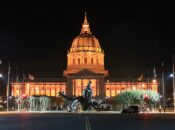 SF City Hall Lights Up Orange for the Giants