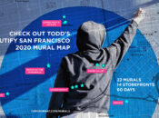 Map of 22 Storefront Murals in San Francisco