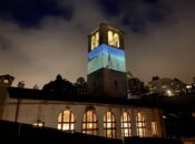 SF Art Institute's Outdoor Video Night on Iconic Tower (Final Night)