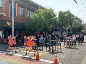 """Outdoor Dining """"Shared Spaces"""" Comes to The Castro"""