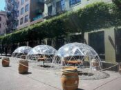 """SF's """"Igloo"""" Outdoor Dining is Back (Again)"""