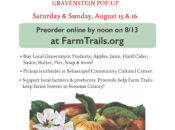 "Sonoma County Farm Trails ""Grav & Go"" Pop-Up Curbside Pickup"