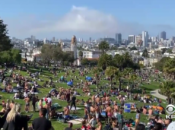 Big Crowds at Dolores Park This Weekend