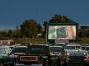 San Mateo's Saturday Night Drive-In Movie Nights