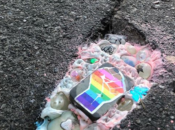 Check Out SF's Potholes Filled w/ Glitter & Broken Disco Balls