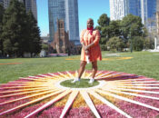 "Gorgeous Social Distancing ""Suns"" Pop Up at Yerba Buena Gardens"