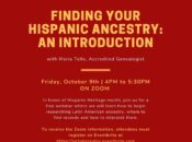 Finding Your Hispanic Ancestry: A Free Webinar Introduction