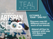 Online ArtSpan Presents SF (Open) Studios: Teal Event