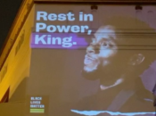 Oakland Salutes Chadwick Boseman with Huge Video Mural