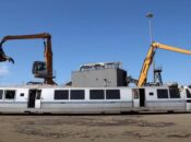 Watch an Old BART Train Get Demolished to Classical Music