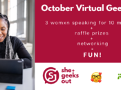 She+ Geeks Out: October Virtual Geek Out Sponsored by iRobot