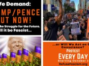 Trump/Pence Out Now: The Struggle for the Future Rally