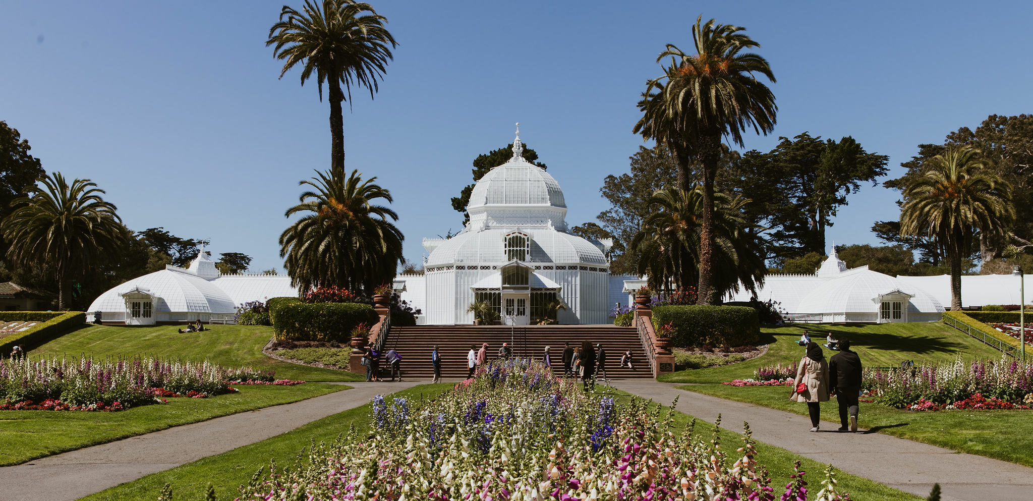 """SF's """"Conservatory of Flowers"""" Reopens Oct. 1"""