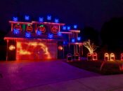 Tracy Home Hosts Epic Halloween Light Show Set to Metallica
