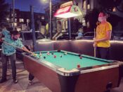 SF's New Outdoor Pool Table at The Wooden Nickel's Parklet