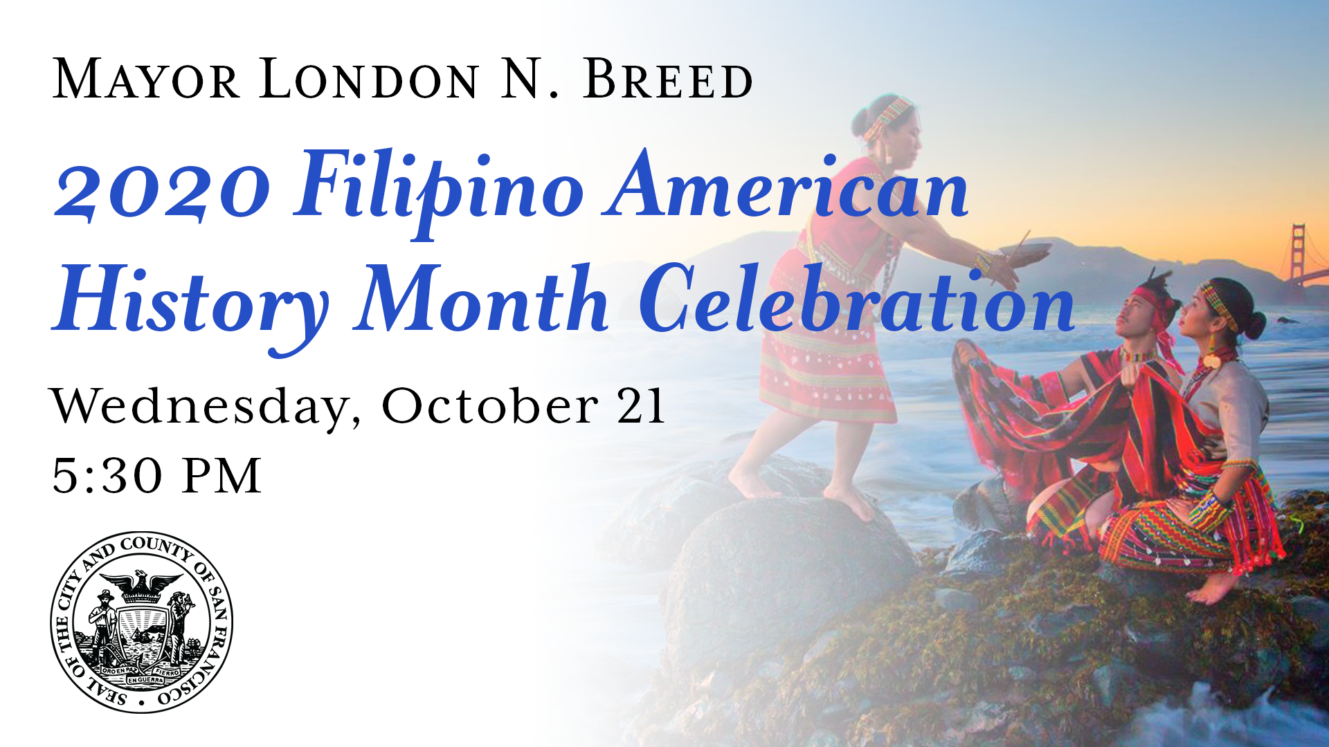 2020 Filipino American History Month Virtual Celebration