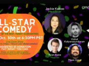 All-Star Comedy Show: Live Virtual Halloween Special