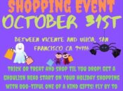 20th Ave Halloween Pop-Up Event