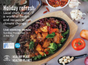 Holiday reFresh: Local Chefs Share Recipes to Curb Climate Change Online