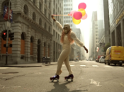Whimsical Apocalyptic Roller Skater Rolls Through SF