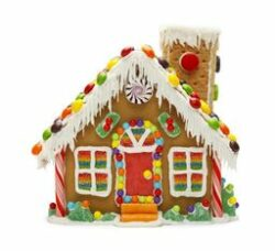 Gingerbread house 2 250x228
