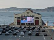 """""""Drive-In"""" Presidential Debate Watch Party at Fort Mason"""