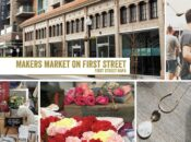 """Makers Market at First Street Napa"" Open-Air Marketplace"