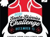 """""""Santa Skivvies"""" DIY Red Underwear 1-Mile Run Challenge"""