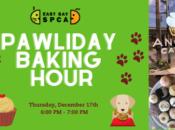 "East Bay SPCA's ""Pawliday Baking Hour"""