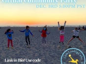 """""""Girls Leading Girls"""" Annual Virtual Community Party and Fundraiser"""