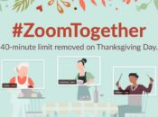 Zoom Offers Free Unlimited Call Times for Thanksgiving