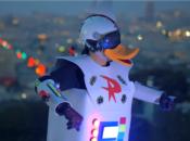 "Ducktales' ""Gizmoduck"" Rolls Through SF in Fun Viral Video"