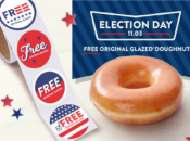 Free Krispy Kreme Donut on Election Day