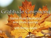 "Full Moon ""Gratitude Ceremony"" Native Flute Meditation + Drum Journey"