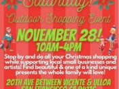 20th Ave Pop Up Vendor Event & Outdoor Holiday Shopping