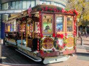 SF's Cable Cars Are Decked Out for the Holidays