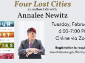 Four Lost Cities: A Secret History of the Urban Age (Author Talk)