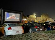 Oakland's Drive-in Warriors Watch Party