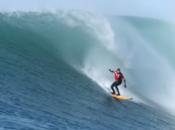 See Pro Surfer Catch an Insane Monster Barrel Wave at Mavericks