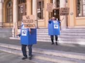 See Berkeley's Dancing Mailboxes Celebrate Inauguration