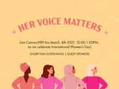 """Her Voice Matters"" Virtual Int'l Women's Day Event"