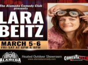 Lara Beitz Live at the Alameda Comedy Club (Mar 5-6)