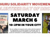 "Oakland Volunteer ""Day of Drops"" for Reparations to the Black Community"